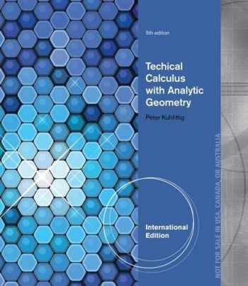 9781285053387-1285053389-Technical Calculus with Analytic Geometry