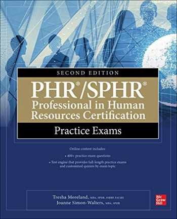 9781260453133-1260453138-PHR/SPHR Professional in Human Resources Certification Practice Exams, Second Edition