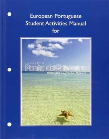 9780205783519-0205783511-European Student Activities Manual for Ponto de Encontro: Portuguese as a World Language (Pearson Custom Library: Portuguese)