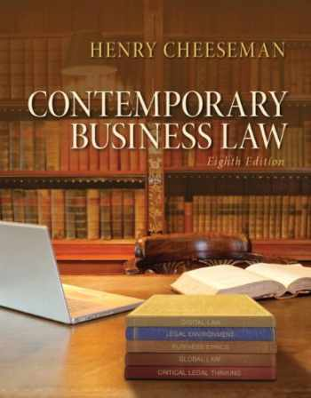 9780133578164-013357816X-Contemporary Business Law (8th Edition)