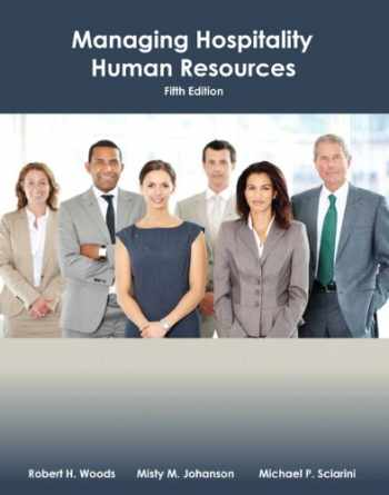 9780133097122-0133097129-Managing Hospitality Human Resources with Answer Sheet (AHLEI) (5th Edition) (AHLEI - Hospitality Supervision / Human Resources)