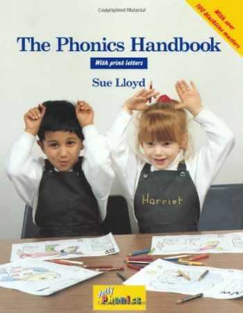 9781870946957-1870946952-The Phonics Handbook in Print Letter: A Handbook for Teaching Reading, Writing and Spelling (Jolly Phonics)