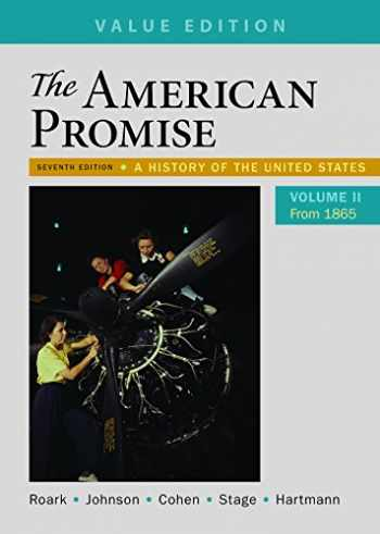 9781319062002-1319062008-The American Promise, Value Edition, Volume 2: A History of the United States