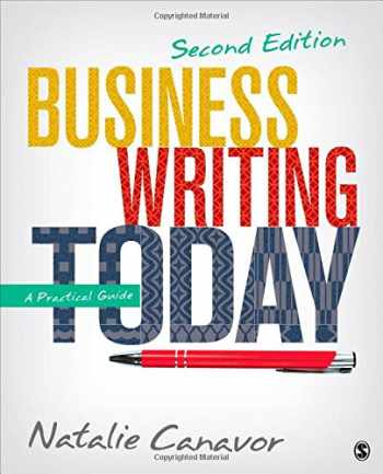 9781483358666-1483358666-Business Writing Today: A Practical Guide