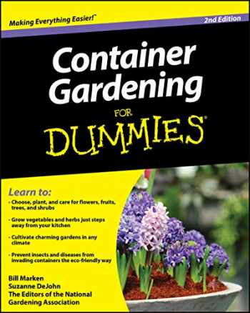 9780470577059-0470577053-Container Gardening For Dummies