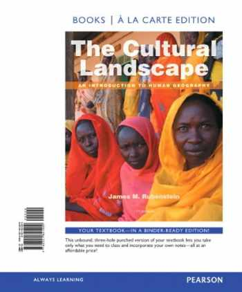 9780321841209-0321841204-The Cultural Landscape: An Introduction to Human Geography, Books a la Carte Edition (11th Edition)