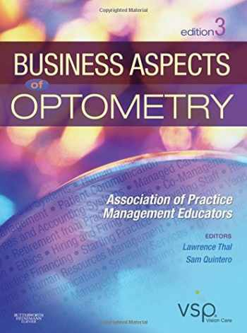 9781437715866-1437715869-Business Aspects of Optometry: Association of Practice Management Educators
