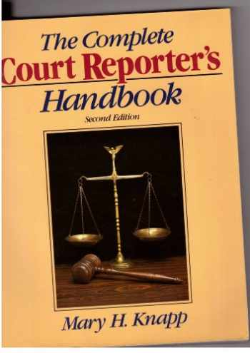9780131593695-0131593692-The Complete Court Reporter's Handbook (Prentice Hall Series in Computer Shorthand)