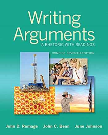 9780321964281-0321964284-Writing Arguments: A Rhetoric with Readings, Concise Edition (7th Edition)