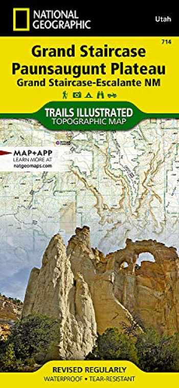 9781566956864-1566956862-Grand Staircase, Paunsaugunt Plateau [Grand Staircase-Escalante National Monument] (National Geographic Trails Illustrated Map, 714)