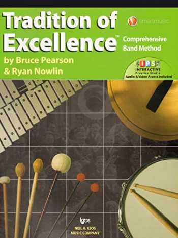 9780849771699-0849771692-W63PR - Tradition of Excellence Book 3 - Percussion