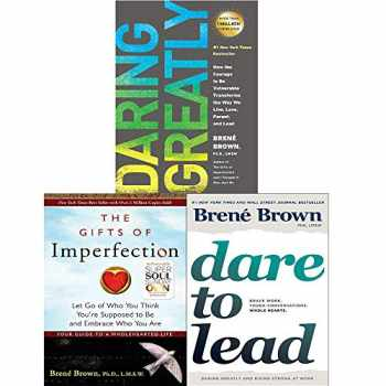 9789123821228-9123821221-Brené Brown 3 Books Collection Set (Dare to Lead [Hardcover], Gifts of Imperfection, Daring Greatly)