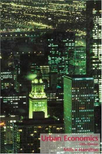9780673468673-0673468674-Urban Economics (5th Edition)