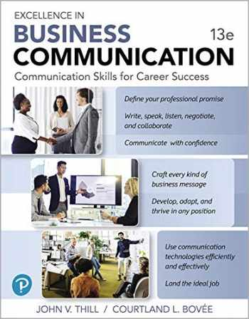 9780135227831-0135227836-MyLab Business Communication with Pearson eText -- Access Card -- for Excellence in Business Communication (13th Edition)