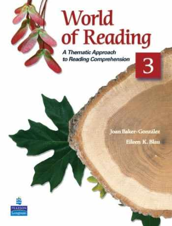 9780136002147-0136002145-World of Reading 3: A Thematic Approach to Reading Comprehension