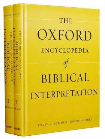 9780199832262-0199832269-The Oxford Encyclopedia of Biblical Interpretation (Oxford Encyclopedias of the Bible)