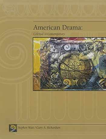 9781413096316-141309631X-American Drama: Colonial to Contemporary