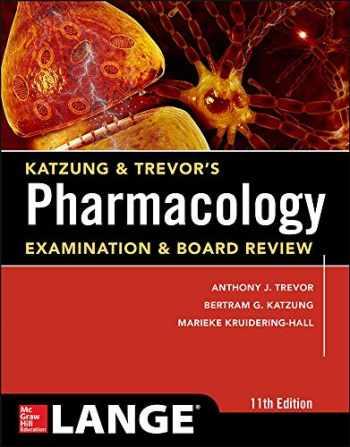 9780071826358-0071826351-Katzung & Trevor's Pharmacology Examination and Board Review,11th Edition (Katzung & Trevor's Pharmacology Examination & Board Review)