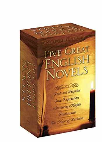 9780486807430-0486807436-Five Great English Novels Boxed Set (Dover Thrift Editions)