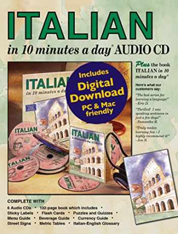 9781931873888-1931873887-ITALIAN in 10 minutes a day® AUDIO CD.