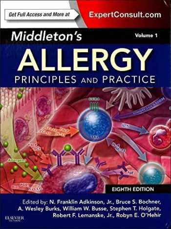 9780323085939-0323085938-Middleton's Allergy 2-Volume Set