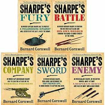 9789123674916-9123674911-Bernard Cornwell's Richard Sharpe's Series 11 to 15 Books Set (Fury, Battle, Company, Enemy, Sword)