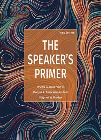 9781680368772-168036877X-The Speaker's Primer, Third Edition