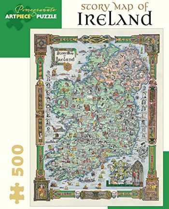 9780764969331-0764969331-Pomegranate Story Map of Ireland 500-piece Jigsaw Puzzle