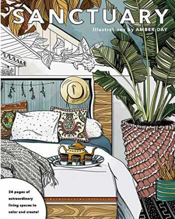 9781533048776-1533048770-Sanctuary: Living Spaces Coloring Book