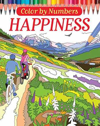 9780785835370-0785835377-Color by Numbers: Happiness (Arcturus Coloring Books)
