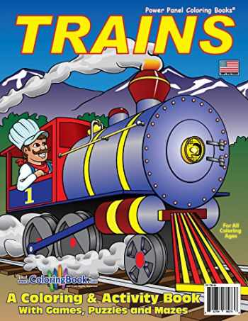 9781935266273-1935266276-Trains Coloring Book (8.5x11)