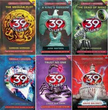 9780545604352-0545604354-The 39 Clues Cahills vs. Vespers 1-6 Includes: The Medusa Plot by Gordan Korman / A King's Ransom by Jude Watson / The Dead of Night by Peter Lerangis / Shatterproof by Roland Smith / Trust No One by Linda Sue Park / Day of Doom by David Baldacci (The 39