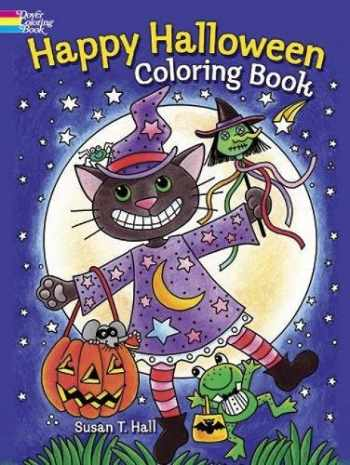 9780486492186-0486492184-Happy Halloween Coloring Book (Dover Holiday Coloring Book)