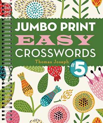 9781454917953-1454917954-Jumbo Print Easy Crosswords #5 (Large Print Crosswords)