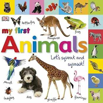 9780756663018-0756663016-Tabbed Board Books: My First Animals: Let's Squeak and Squawk! (My First Tabbed Board Book)
