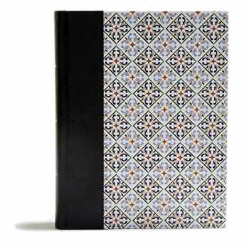 9781535953412-1535953411-CSB Legacy Notetaking Bible, Spanish Tile LeatherTouch-Over-Board