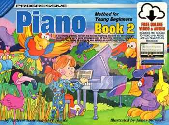 9780947183271-0947183272-18327 - Progressive Piano Method for Young Beginners Book 2 - Book/Online Video & Audio (Progressive Young Beginners)