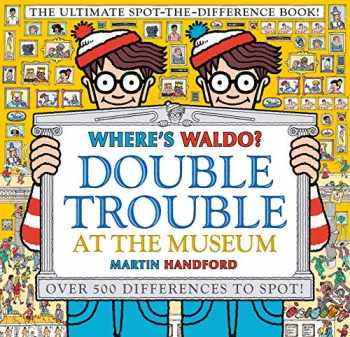 9781536201390-1536201391-Where's Waldo? Double Trouble at the Museum: The Ultimate Spot-the-Difference Book