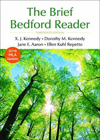 9781319031183-1319031188-The Brief Bedford Reader