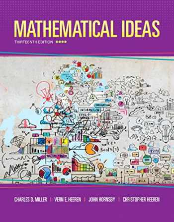 9780321977076-0321977076-Mathematical Ideas (13th Edition) - Standalone book