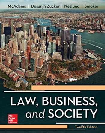 9781259721885-1259721884-Law, Business and Society