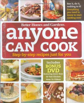 9780470500675-0470500670-Anyone Can Cook DVD Edition: Step-by-Step Recipes Just for You (Better Homes and Gardens Cooking) (Better Homes & Gardens Test Kitchen)