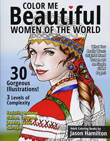 9781944845001-1944845003-Color Me Beautiful, Women of the World: Adult Coloring Book
