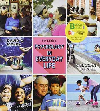 9781319332389-1319332382-Loose-Leaf Version for Psychology in Everyday Life 5e & Launchpad for Psychology in Everyday Life 5e (Six Months Access)