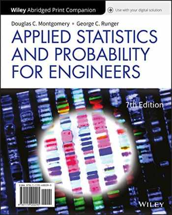 9781119409533-1119409535-Applied Statistics and Probability for Engineers, 7e Loose-Leaf Print Companion with WileyPLUS Card Set