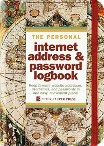 9781441319074-1441319077-Old World Internet Address & Password Logbook (removable cover band for security)