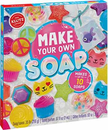 9781338106459-1338106457-Klutz Make Your Own Soap Craft & Science Kit