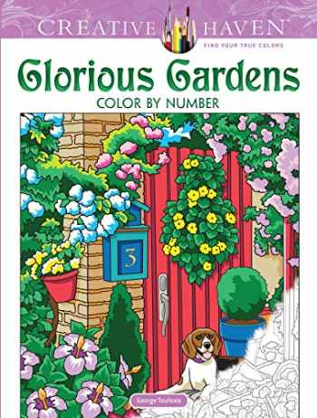 9780486836690-048683669X-Creative Haven Glorious Gardens Color by Number Coloring Book (Creative Haven Coloring Books)