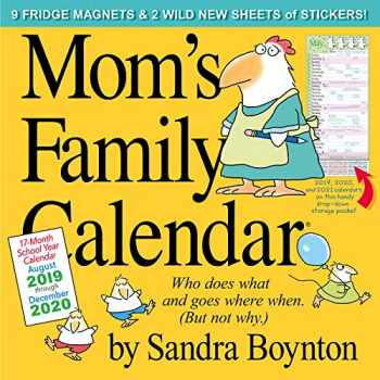 9781523505968-1523505966-Mom's Family Wall Calendar 2020