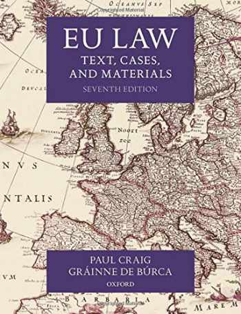 9780198856641-0198856644-EU Law: Text, Cases, and Materials